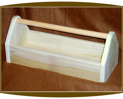 Wooden Tool Box (Large)