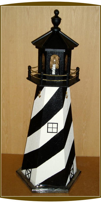 "4"" Foot Cape Hatteras Lighthouse"