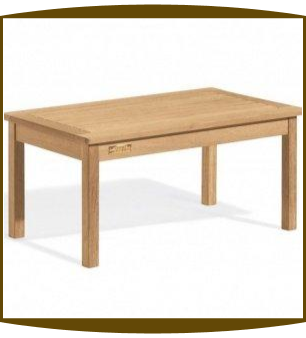 Shorea Wood Classic Coffee Table