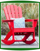 POLYWOOD Adirondack Rocking Chairs